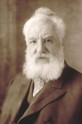 "Journal: Alexander Graham Bell: 140 Page 6"" x 9"" Notebook Journal Diary"