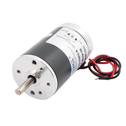 X-DREE Mini motor eléctrico del diámetro del eje del esfuerzo de torsión 4mm de DC 24V 3000RPM alto para el secador de pelo(DC 24 ν 3000RPM High Torque 4mm Shaft Dia Electric Mini Motor for Hair Dryer