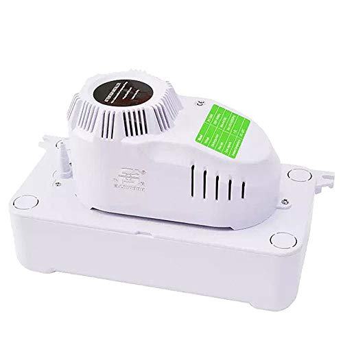 FUJIWARA Condensate Drain Pump,Quiet for HVAC,Air Conditioner,Dehumidifier,Furnance,Ice Maker,and Replace Water Pumps (230V)