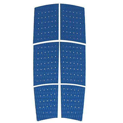 Yeelur Práctica Almohadilla de tracción para Tabla de Surf Skimboard, Almohadilla de tracción Delantera para Tabla de Surf, Firme, fácil de Instalar, Conveniente para Tabla de Surf(Blue)