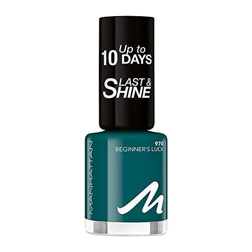 Manhattan Last und Shine Nagellack, Nr.970 Beginners Luck, 1er Pack (1 X 8 ml)