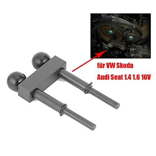 MaxAwe Nockenwellen Arretierwerkzeug Fixierung für VW Golf Audi A2 Skoda SEAT 1.4 1.6, Arretierung Arretiervorrichtung Zahnriemen Werkzeug Motoreinstellwerkzeug