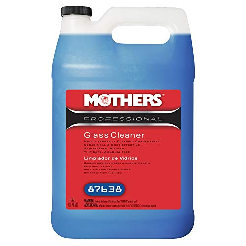 Mothers 87638 Professional Glass Cleaner - 1 Gallon