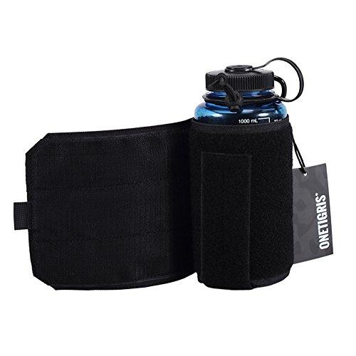OneTigris Outdoor Trinkflasche Halter Molle Feldflaschentasche 32 Oz Trinkflasche Carrier |MEHRWEG Verpackung