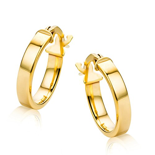 Orovi Pendientes Señora aros en Oro Amarillo Oro 9 Kt / 375