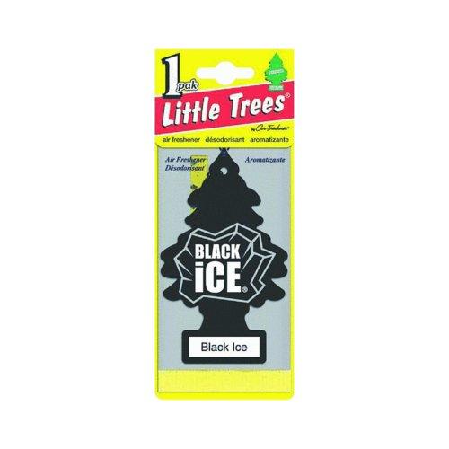 Little-Trees Black Ice Little Tree Air Freshener- 6 Pack