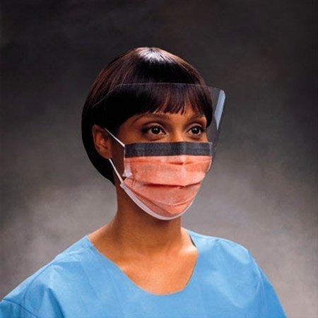 Kimberly-Clark KC-47147 Fluidshield Procedure Mask, Shape, (Pack of 25)