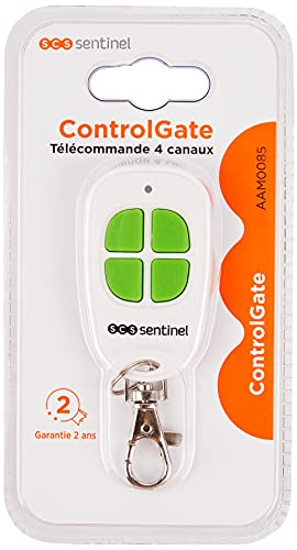 SCS Sentinel Télécommande portail Botón Control Remoto Sentinel-Portal...