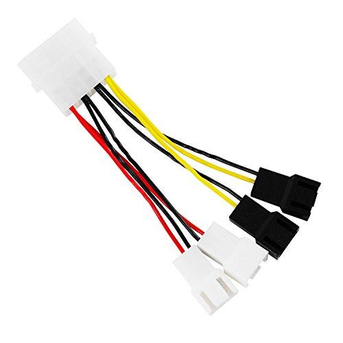 AABCOOLING C12adaptador molex 4 Pin con conector 3 Pin