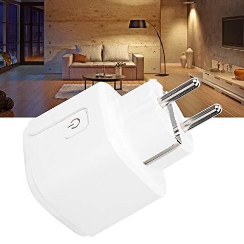 Enchufe inteligente, estable, ahorro de energía, ampliamente utilizado PC ABS WIFI, enchufe de baño, para salón, dormitorio, balcón