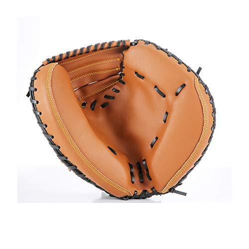 HZD Baseball-Fanghandschuhe, Erwachsene Baseballhandschuhe, geeignet für professionelles Training, Baseballspiele, aus dickem PVC-Material