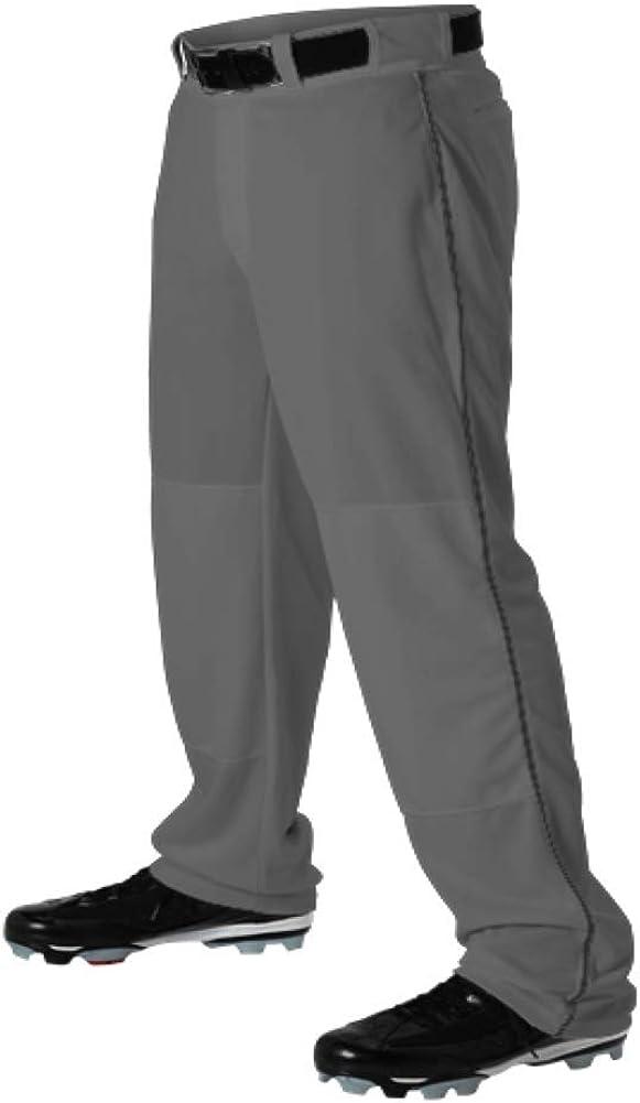 Teamwork Youth Baseball Pants Graphite w New product!! B Pipe Black Columbus Mall Large Open