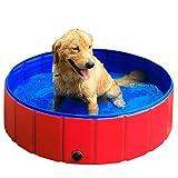 GRULLIN Pet Swimming Pool Portable...