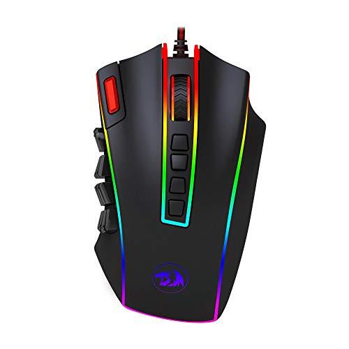 Mouse Gamer Redragon Legend Chroma M990-RGB, 24000 Dpi com 24 botões