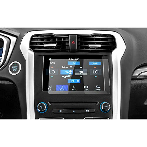[Updated] 2013-2019 Ford Fusion sync2 sync3 8-inch 2019 Ford Ranger Display Touch Screen Car Display Navigation Screen Protector, R RUIYA HD Clear Tempered Glass Protective Film