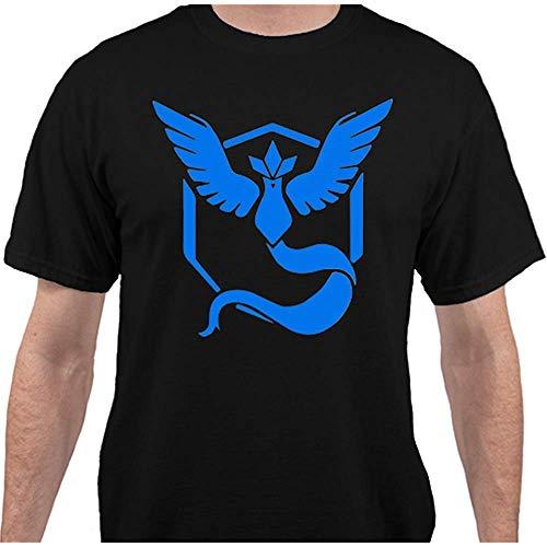 NID Timika Campbell Team Mystic PokÉMon Go T Shirt Black-Arge (Size:XL