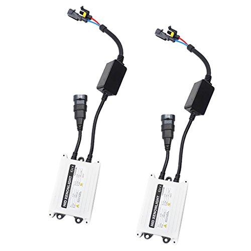 MagiDeal 2X HID Xenon Ballast Lumière Voiture pour H1 H3 H4 H7 H10 H11 9005 9006 D2R