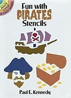 Fun with Pirates Stencils (Dover Stencils)