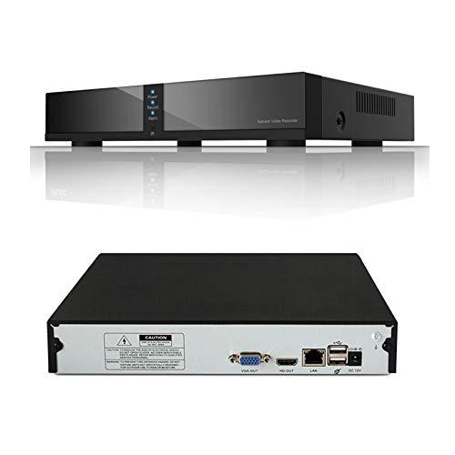 Seculink 16-Channel 4MP/5MP Cloud NVR ONVIF-Netzwerk-Videorekorder 1920P H.265 Compression P2P-Fernbedienung Motion Detection für die Überwachung IP-Kamera (16-CH)