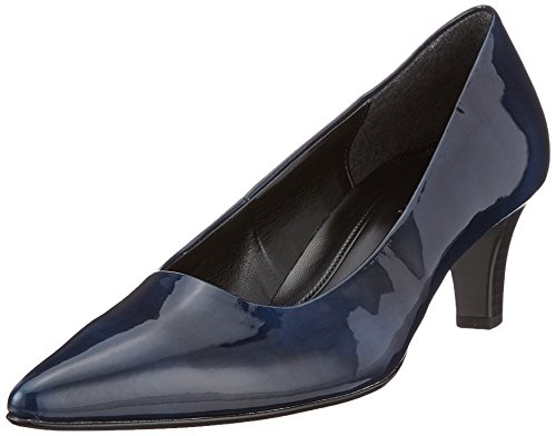 Gabor Shoes Damen Fashion Pumps, Blau (Marine), 37 EU