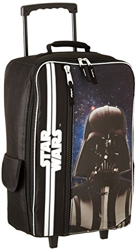 Star Wars Luggage Darth Vader 'in Space' 17' Rolling Pilot Case, Black, One Size