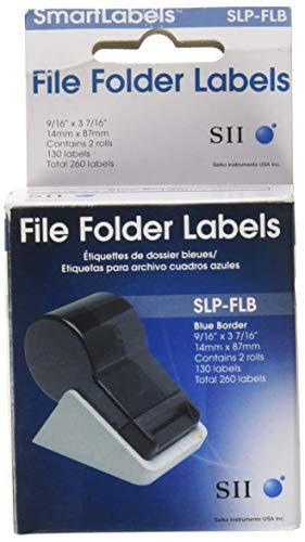 Seiko Instruments SLP-FLB - Etiqueta autoadhesiva (87 mm, 14 mm)