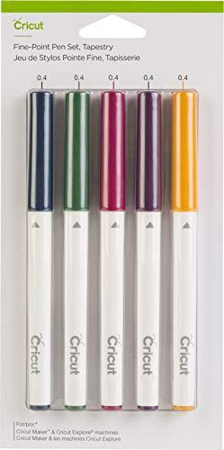Conjunto de canetas de ponta fina Cricut, tapeçaria