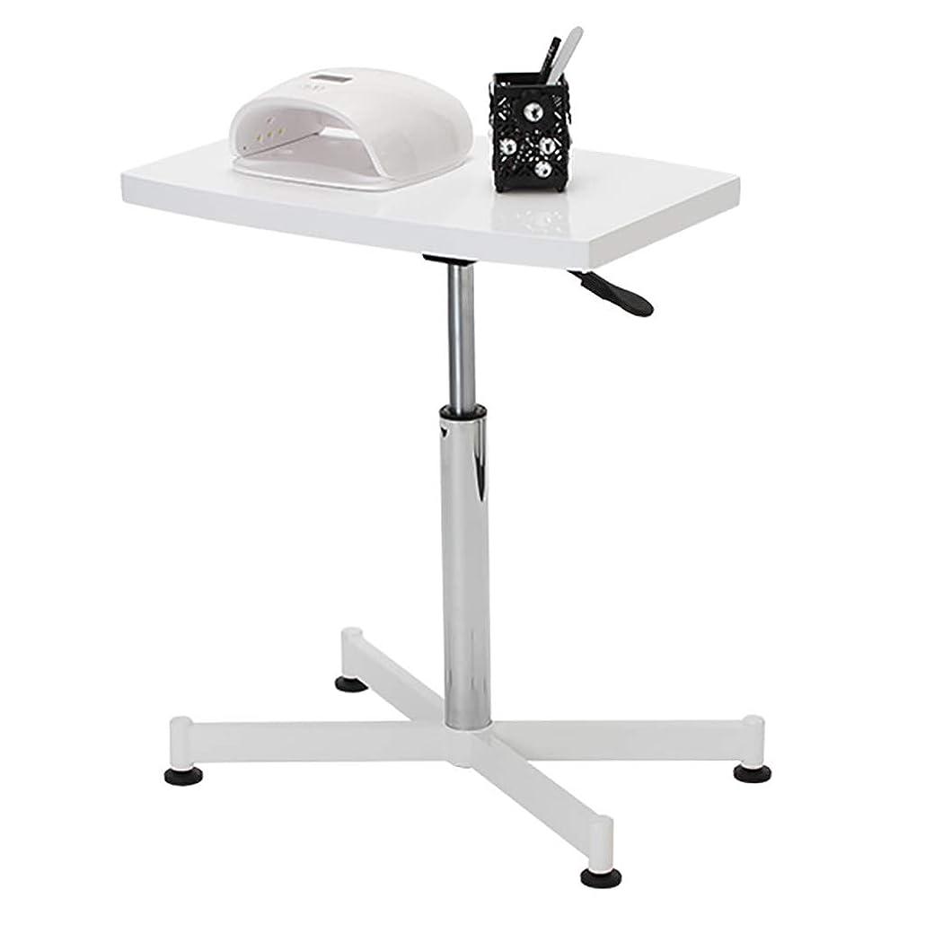 論争ピストル等マニキュアテーブルネイルプレートマニキュアテーブルは360度回転ネイルテーブル/美容カートを上下させることができます