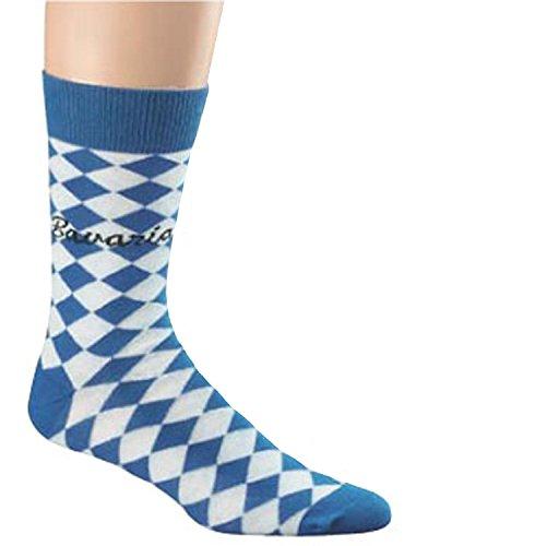 Unbekannt Bavaria Oktoberfest Socken, Farben alle:blau/weiß, Größe:42-47