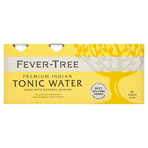 Fever-Tree Indian Tonic Water 8 x 150 ml