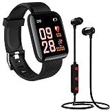 Infinizy (1+1 Year Warranty) D116 Intelligence Bluetooth Monitor/Smart Bracelet/Health...