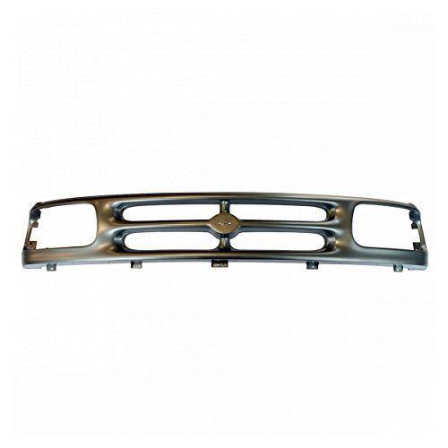 Grille Gray Argent Front for 94-97 Mazda B2300 B3000 B4000 Pickup