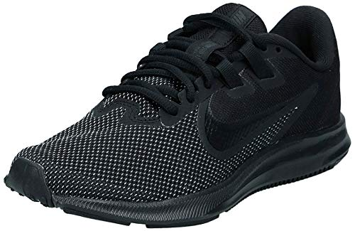 Nike Women's Downshifter 9 Running Shoe, Black/Black-Anthracite, 8.5 Regular US
