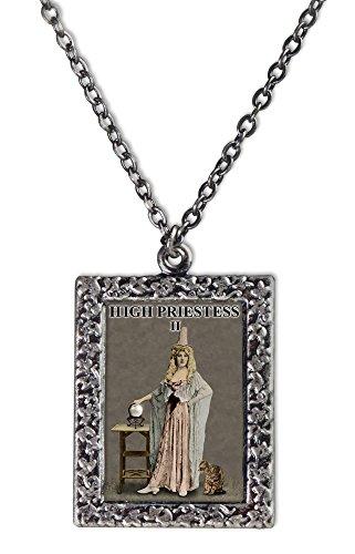High Priestess Tarot Necklace