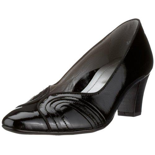 ara Monaco 2-32802-01, dames pomp, zwart, (zwart 1)