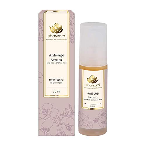 Shankara Anti-Age Serum - Herbal Anti Aging Formulation, Naturally Nourishes & Rejuvenates Skin, For Face and Neck Area
