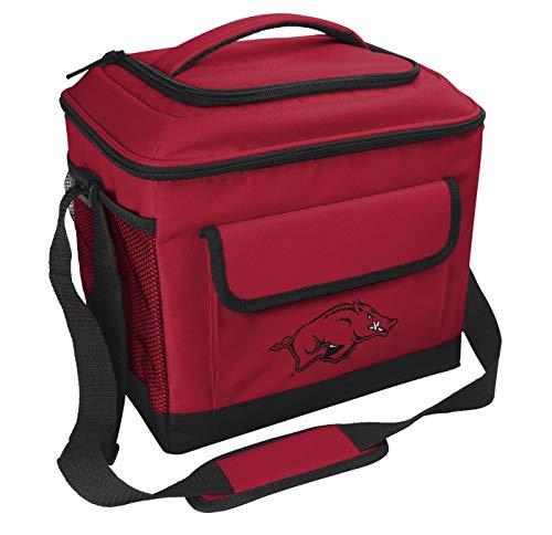 Rawlings NCAA Soft-Sided Insulated Cooler, 24-Can Capacity, Arkansas Razorbacks