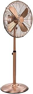 Tristar VE-5971 Ventilador de pedestal con 40 centímetros de diámetro , 50 W, Metálico, Acabado cobre retro