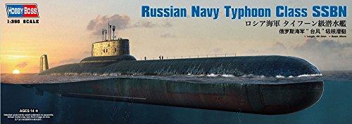 Hobbyboss 1:350 - Russian Navy Typhoon Class SSBN Submarine