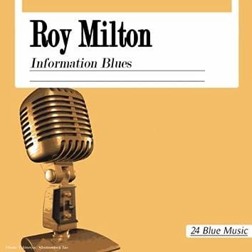 Roy Milton: Information Blues