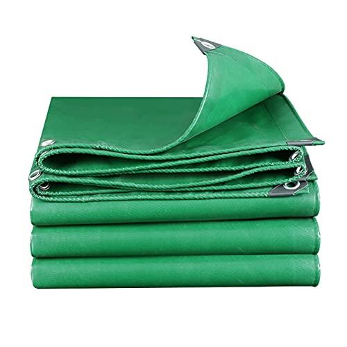 AWSAD Cubierta A Prueba De Lluvia Verde Lona PVC Espesar Proteccion Solar Lonas Seguridad Resistente Rotura para Auto Balcón Exterior, 22 Tamaños (Color : Green, Size : 2x3m)