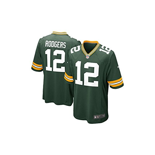 Nike NFL Green Bay Packers Home Game Jersey - Aaron Rodgers Medium