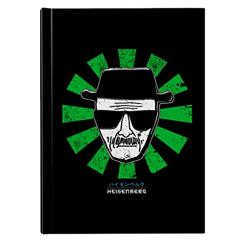 Heisenberg Retro Japanese Breaking Bad Hardback Journal
