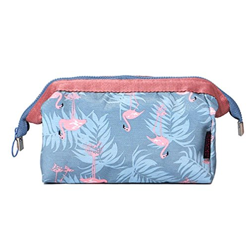 House of Quirk Polyester Toiletry Bag (Grey_HANDYPOUCH_GREY)