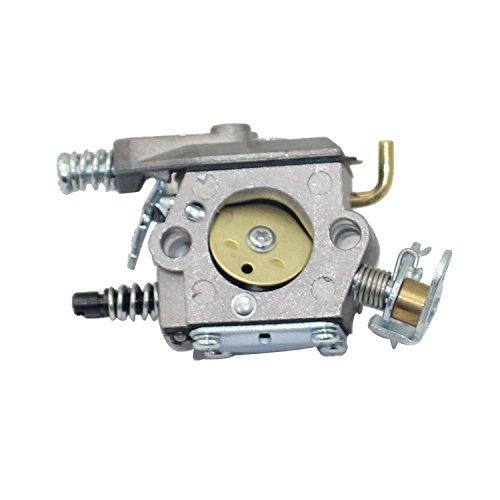 P SeekPro Carburador de repuesto para motosierra Husqvarna 36 41 136 137 137E 141 142 142E