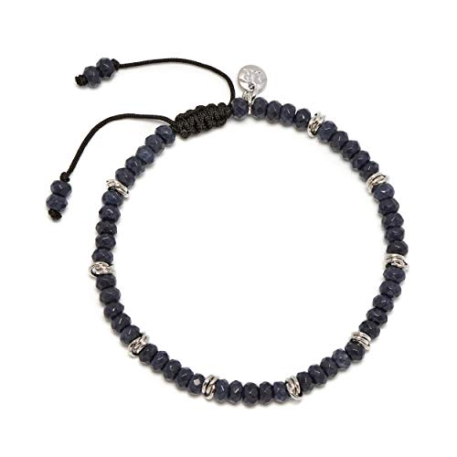 Lola Rose Aspley Bracelet Midnight Blue Quartz
