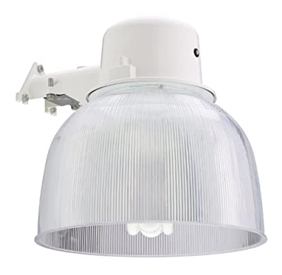 Lithonia Premium Outdoor Area Light Painted Metal Housing with 13-Inch Prismatic Acrylic Diffuser