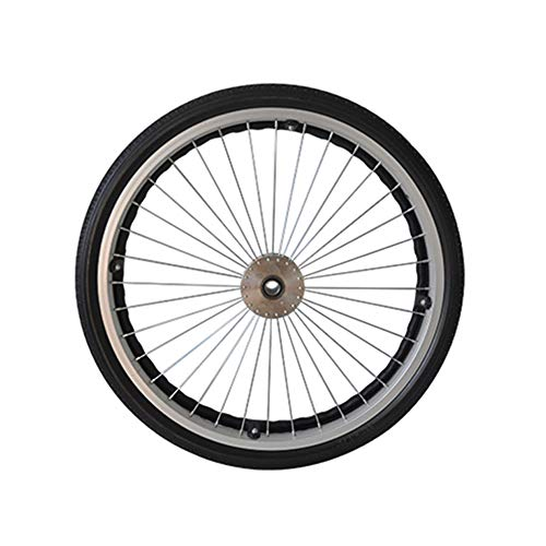Accesorios para sillas de ruedas eléctricas, Neumáticos sólidos en las ruedas traseras, Ruedas de 22 pulgadas, Neumáticos para sillas de ruedas neumáticas, Neumáticos resistentes al desgaste no infl