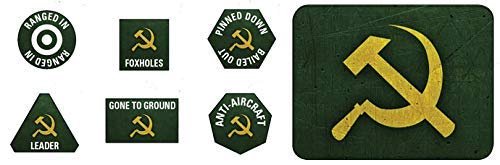 Flames of War: Soviet Tokens and Objectives (SU903)