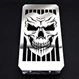 Skull Radiator Cover Grill Grille Shrouds Cooler Protector For Honda VTX 1800 C/R/S/T VTX1800F/N Chrome